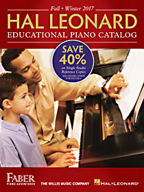 2017 Fall/Winter Hal Leonard Educational Piano Catalog